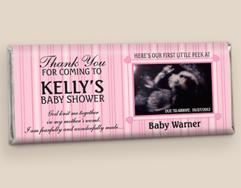 Hershey Chocolate Bars for Baby Showers