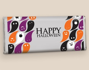 personalized chocolate for Halloween