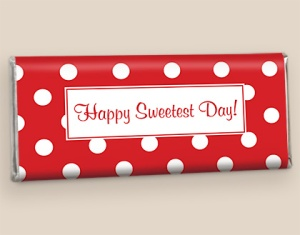 Personalized Sweetest Day Favors
