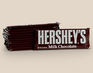 Wrapped Hershey's Standard Bars