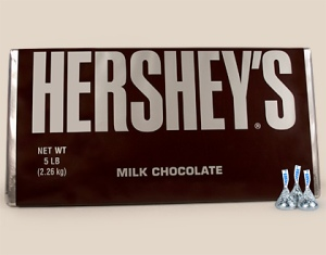 5lbs of Hershey's Milk Chocolate
