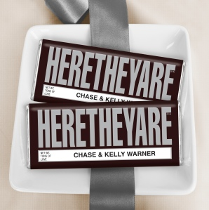 Personalized Candy Bar Favors and Gifts