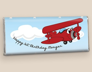 Airplane Themed Birthday Favors