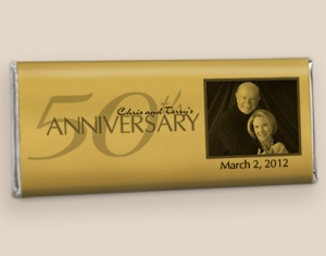 Anniversary Candy Favors