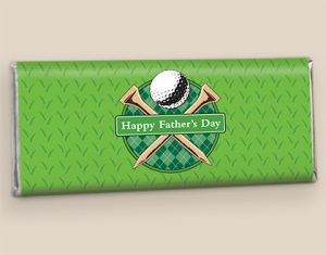 Fore Dad: Wrapped Hershey's Candy