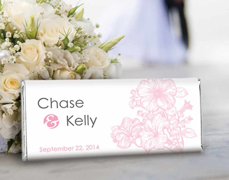 pink_floral_wedding_candy_bar_favors