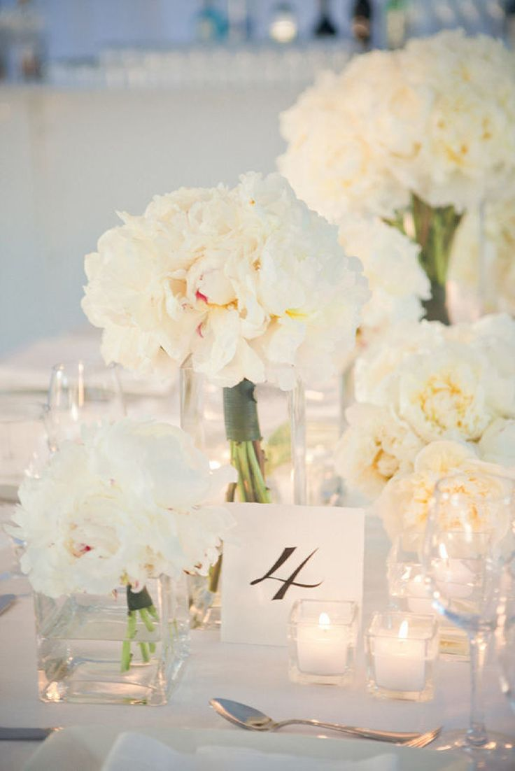 Summer Wedding Colors: White and Ivory | WH Candy