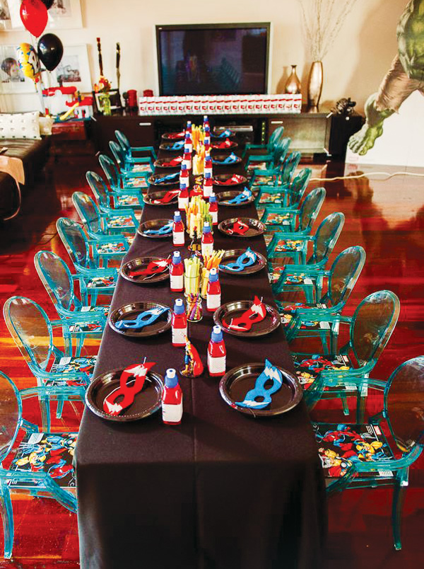 Assemble Your Avengers Themed Birthday Party Wh Candy